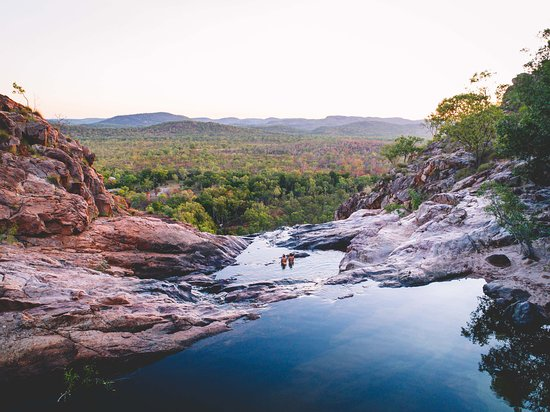 Kakadu National Park, Australien: Gunlom Plunge Pool in Kakadu