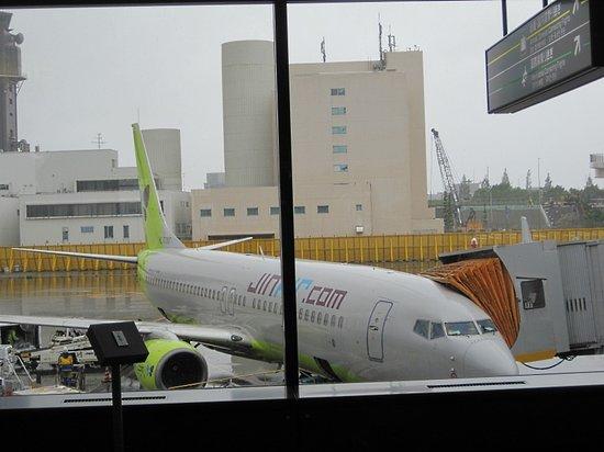 Jin Air: 駐機場の機体