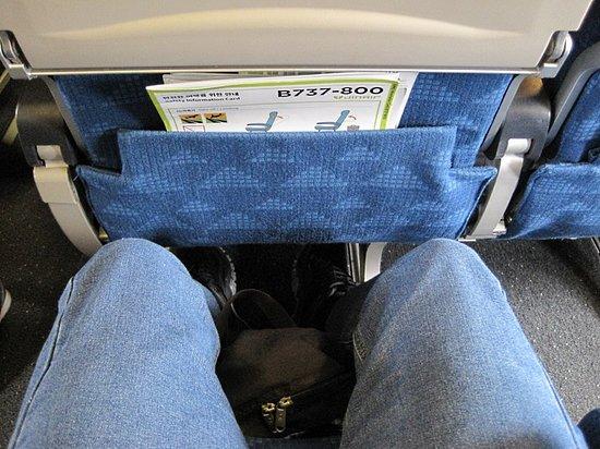 Jin Air: 座席の広さ