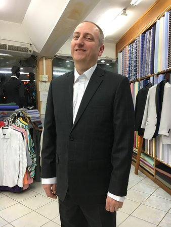 Tito Fashion: how about this big smile with professional tailor made suit