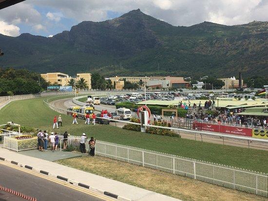 Port Louis Race Track: The backdrop