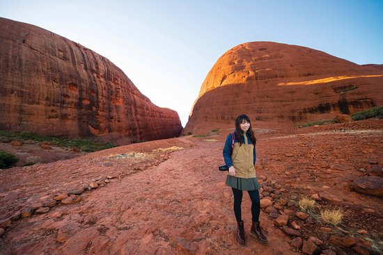 Uluru-Kata Tjuta National Park, Australien: Kata Tjuta Valley of the Winds Walk