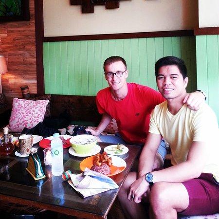 My favorite organic restaurant in Bohol