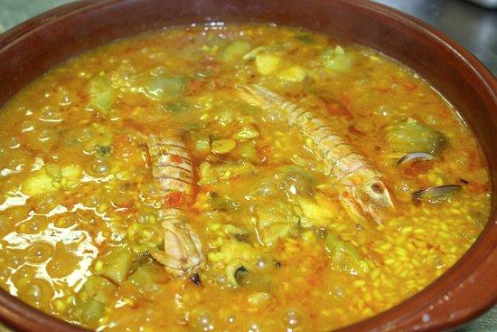 Restaurante Argenta: Boquerones fritos
