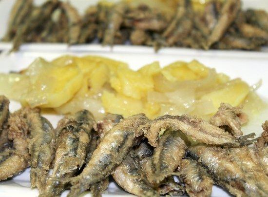 Restaurante Argenta: Arroz negro de menú