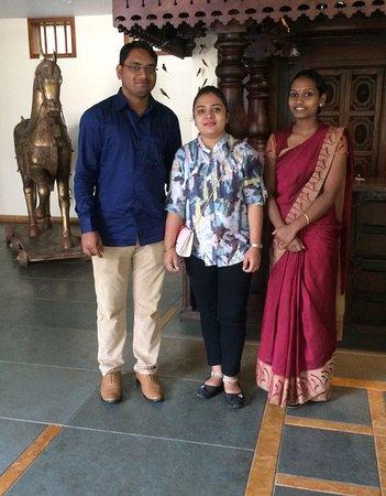 Kunjithanny, الهند: Happy guest Mr & Mrs Pradeep Uttam.