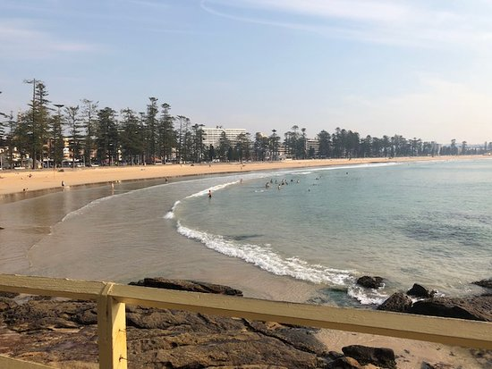 Manly Scenic Walkway: The Manly beach end of the walk