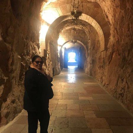 Basilica de Santa Maria la Real de Covadonga: Santuario de la Virgen de Covadonga Picos de Europa Asturias
