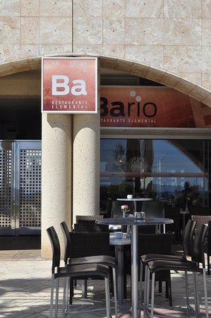 Bario Restaurante Elemental: Terraza BARIO Restaurante