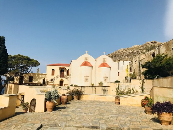 The Holy Monastery of Preveli: Kloster Preveli