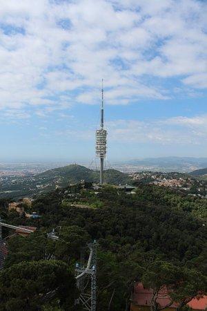 Parc d'Atraccions Tibidabo: Вид на Кольсероллу