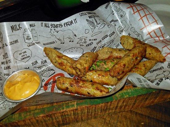 Genuine Broaster Chicken: Seekh Kebabs