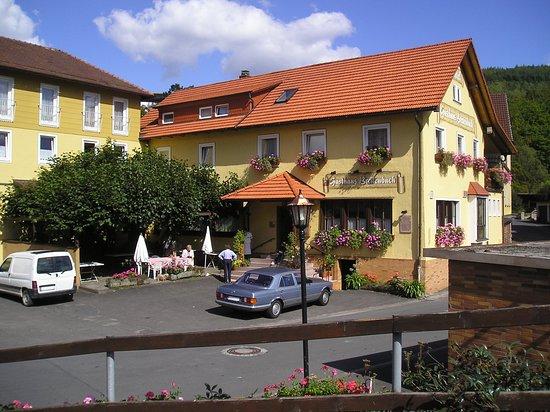 Bad Bruckenau, ألمانيا: Außenansicht 