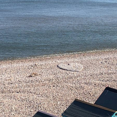 Budleigh Salterton, UK: Pebbled Beach