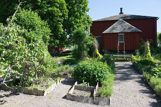 Säffle, Σουηδία: Örtagården på von Echstedtska gården.