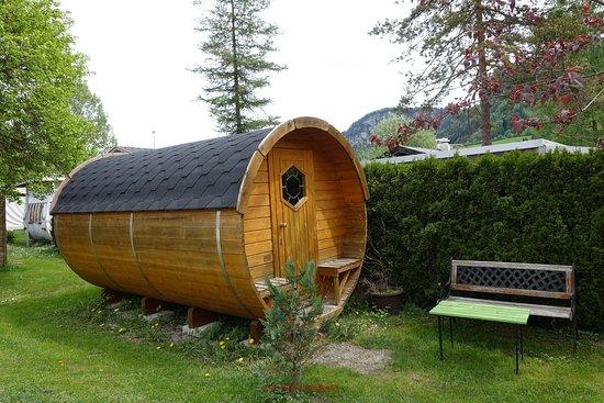 Thiersee, Österreich: Barrel to sleep in