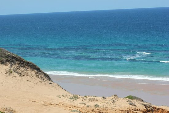 Inhambane Province, Mosambik: This is the beach a short walk from the lodge