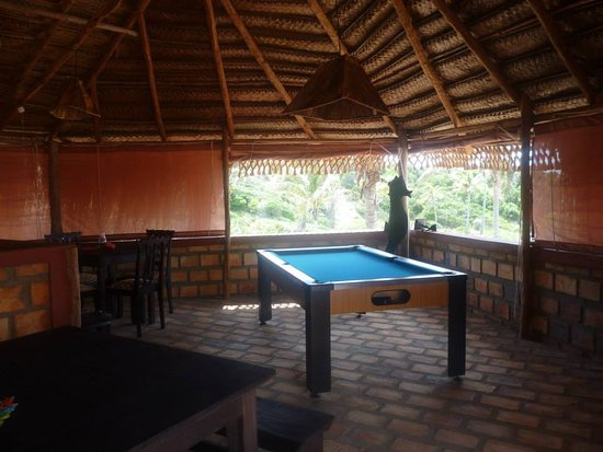 Provincie Inhambane, Mozambique: The large family area includes a pool table and games, great views, kitchen, dining tables and s