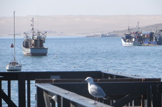 LÜDERITZ NEST HOTEL: Harbour view