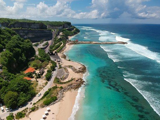 Melasti Beach Picture Of Hideaway Villas Bali Uluwatu Tripadvisor