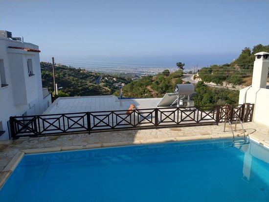 Tsada, Cypr: Views from balcony