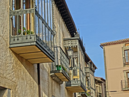 Ledesma, Spain: Balcones