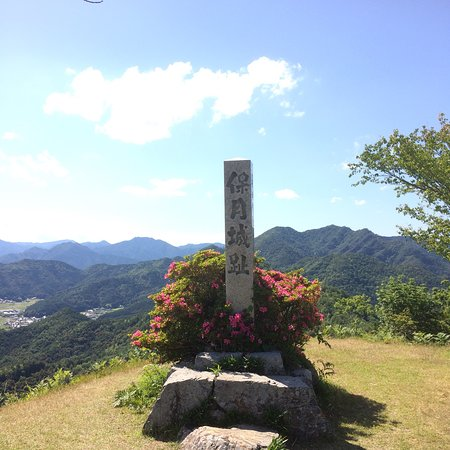 Kuroi Castle Ruins: 城跡は結構広いです。