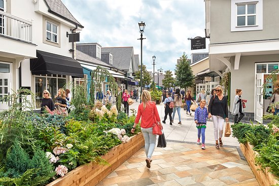 Kildare Village is the perfect luxury shopping destination, home to over 100 designer brands.