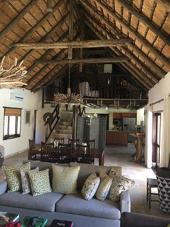 Matimba Bush Lodge: Zona giorno