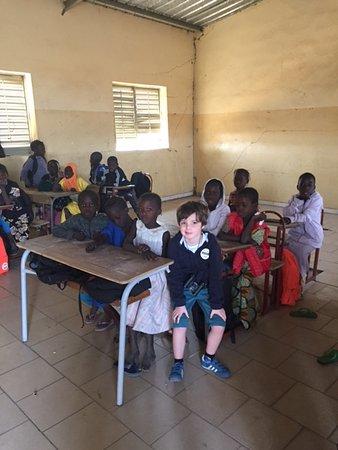 Le Senegal selon Modou: ecole de brousse