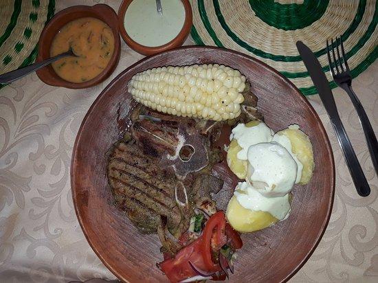 Pujili, Ecuador: Algunos de nuestro platos