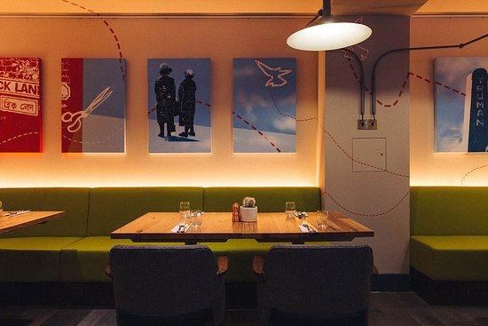 Qbic Bar + Kitchen: Restaurant area ideal for groups
