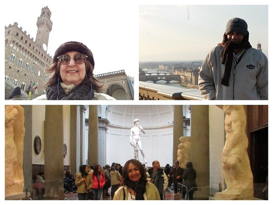 Provincia de Florencia, Italia: Aqui se respira arte, afinal é a cidade de Michelangelo. A estátua original de Davi fica aqui.
