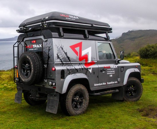 Drumnadrochit, UK: WildTrax Vehicle