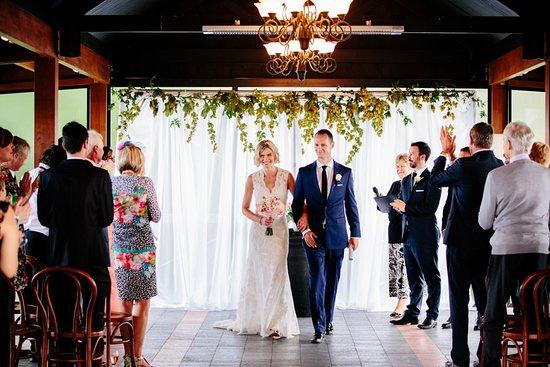 Beautiful wedding at Melton Estate