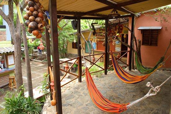 La Casa de Felipe Hostel: Terraza con Hamacas