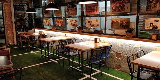 Basquery: El comedor como campo de Rugby