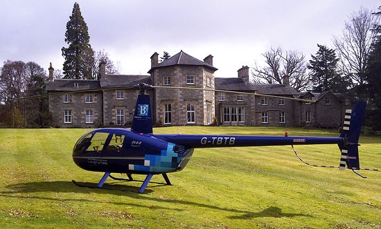 Contin, UK: Flying visit to Coul House