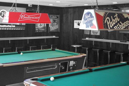 Woodstock, NH : The varsity room is open again!