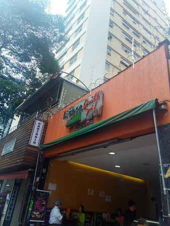 Lisboa Grill: Fachada externa