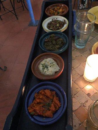Restaurant Cafe La SQALA : Appetizers