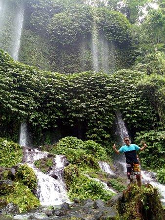 Benang Stokal and Benang Kelambu Waterfall: Good View