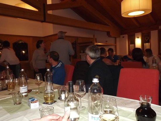 Hotel Ristorante Lago Smeraldo: Sala da pranzo
