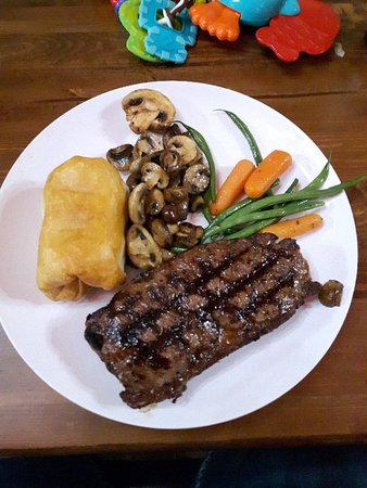 Great Meals, great value - Silver Slate Steak House, Nanton