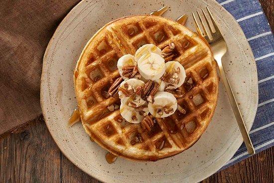Kalyan Heritage Rooftop Restaurant: Waffles