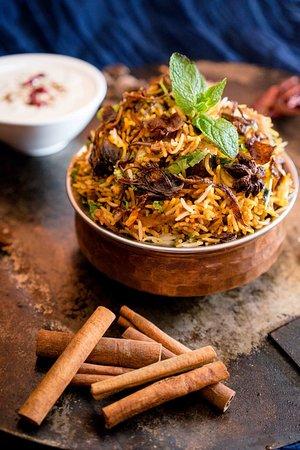 Kalyan Heritage Rooftop Restaurant: Biryani
