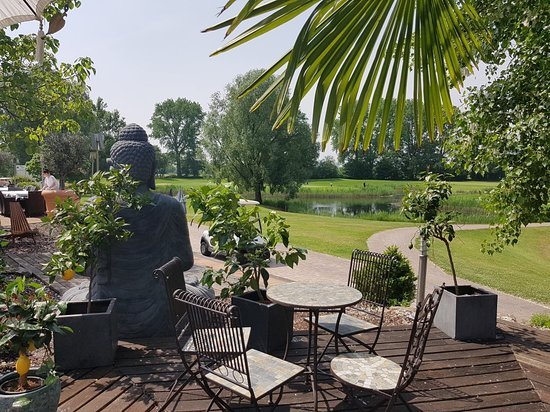 Limburgerhof, Alemania: #spargel#tolle terasse