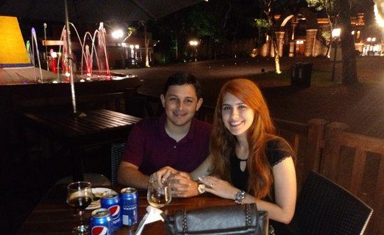 Restaurante Cabeza de Vaca: Jantar romântico!