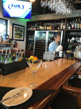 Mazie's WPB: Greatest Bartender, so friendly