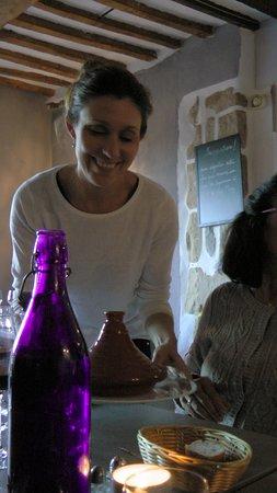 Octon, France: and congenial hostess